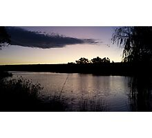 River Murray Sunset  Photographic Print