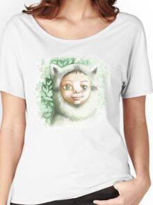 racoon child Women's Relaxed Fit T-Shirt