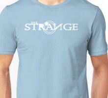 The Strange White Logo-Unisex T-Shirts Unisex T-Shirt