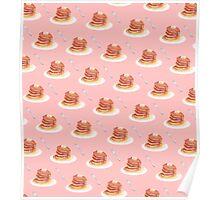 Pancake Pattern Poster