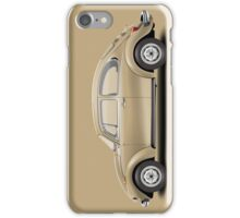 1975 Volkswagen Super Beetle - Harvest Gold Metallic iPhone Case/Skin