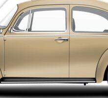 1975 Volkswagen Super Beetle - Harvest Gold Metallic Sticker