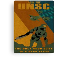 Join the UNSC Canvas Print