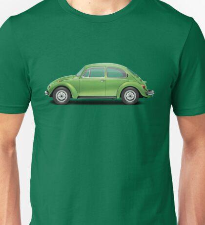1975 Volkswagen Super Beetle - Viper Green Metallic Unisex T-Shirt