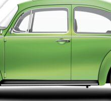1975 Volkswagen Super Beetle - Viper Green Metallic Sticker