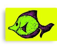 Goofy Fish Canvas Print