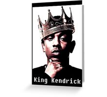 kendrick lamar Greeting Card