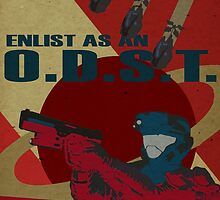Enlist As An O.D.S.T. Red by SoloCompass
