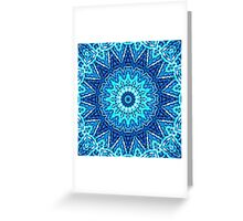Stich-Work Mandala Greeting Card