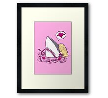 The Cupid Shark in Water Framed Print