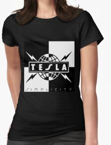 Tesla the band Tour 2016 02 Womens Fitted T-Shirt