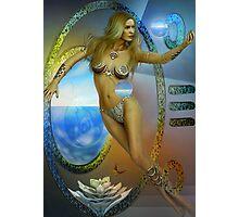 sacred feminine  two re-edited Photographic Print