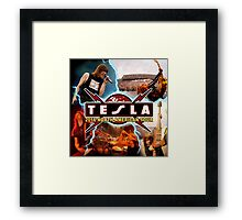 Tesla the band Tour 2016 05 Framed Print
