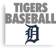 DETROIT TIGERS BASEBALL Canvas Print