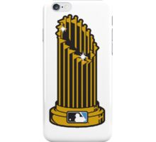 MLB UNOFFICIAL TROPHY iPhone Case/Skin