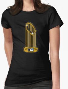 MLB UNOFFICIAL TROPHY Womens Fitted T-Shirt