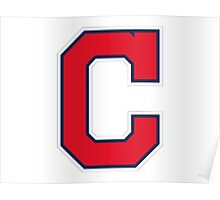 INDIANS CLEVELAND SIMPLE LOGO Poster