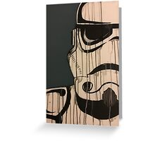 Storm trooper Greeting Card