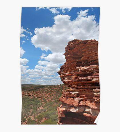 Kalbarri Rocks. Poster