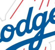 DODGERS BASEBALL LOGO Sticker