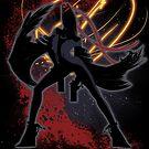 Super Smash Bros. Bayonetta (Original) Silhouette by jewlecho