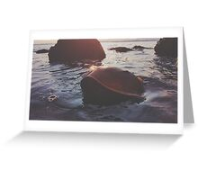Crab Out of Water Greeting Card