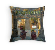 Rivendell- Happiest Place on Middle Earth Throw Pillow