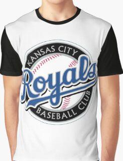 KANSAS CITY ROYALS LOGO Graphic T-Shirt