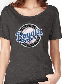 KANSAS CITY ROYALS LOGO Women's Relaxed Fit T-Shirt