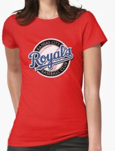 KANSAS CITY ROYALS LOGO Womens Fitted T-Shirt