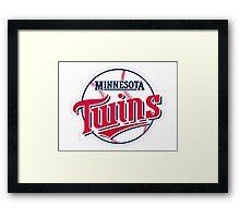 MINNESOTA TWINS BASEBALL Framed Print