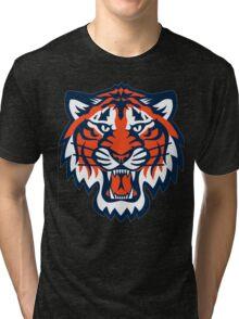 THE DETROIT TIGERS Tri-blend T-Shirt