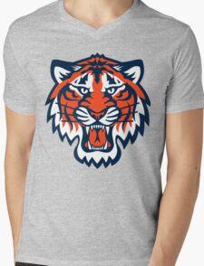 THE DETROIT TIGERS Mens V-Neck T-Shirt