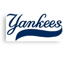 NY YANKEES SIMPLE Canvas Print