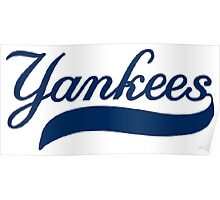 NY YANKEES SIMPLE Poster