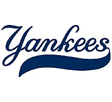 NY YANKEES SIMPLE Photographic Print