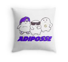 Adiposse Throw Pillow