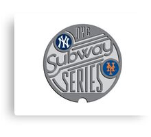 MLB SUBWAY SERIES Canvas Print