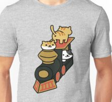 Neko atsume train Unisex T-Shirt
