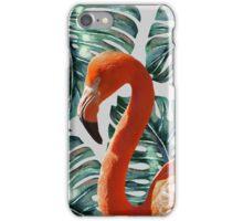Flamingo Self Portrait #redbubble #home #lifestyle #fashion iPhone Case/Skin