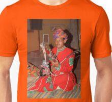 Musician at the Chocki Dani Village in Rajasthan, India Unisex T-Shirt