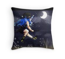 City Witch  Throw Pillow