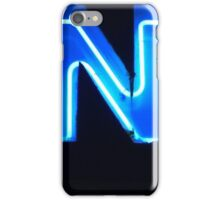Vancouver Urban Alphabet - N iPhone Case/Skin