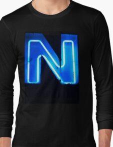 Vancouver Urban Alphabet - N Long Sleeve T-Shirt