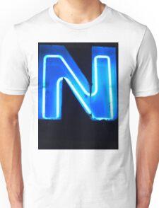 Vancouver Urban Alphabet - N Unisex T-Shirt