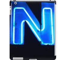 Vancouver Urban Alphabet - N iPad Case/Skin