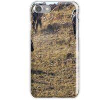 Garcia Herding His Band- Pryor Mustangs iPhone Case/Skin