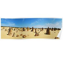 The Pinnacles landscape. Poster