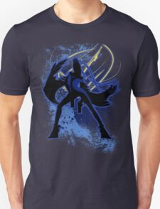 Super Smash Bros. Blue Bayonetta (Original) Silhouette Unisex T-Shirt