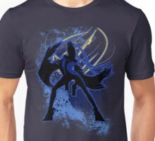 Super Smash Bros. Blue Bayonetta (Original) Silhouette Unisex T-Shirt